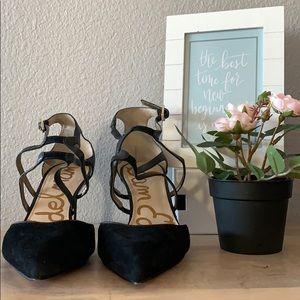 💕Sam Edelman Ankle Strap Pointed Toe Stiletto